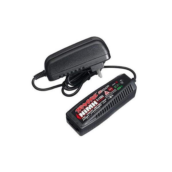 Charger, AC, 2 amp NiMH peak detecting (5-7 cell, 6.0-8.4, TRX2969G