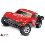 Traxxas Slash 2WD VXL brushless short course RTR 2.4GHz TQi Compleet met TSM Electro Auto's 1/10