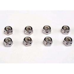 Traxxas TRX4147 Moeren 5mm nylon vergrendeling (8)