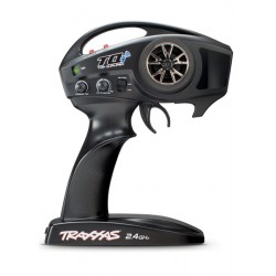 Traxxas TRX6509R TQI 2,4 GHz radio-systeem, 2-kanaals Traxxas Link inclusief TRX6533 TSM Ontvanger