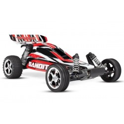 Traxxas Bandit XL-5 TQ (no battery/charger), Red, TRX24054-4R