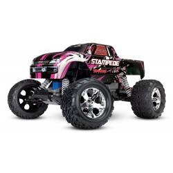 Traxxas Stampede XL-5 TQ (incl battery/charger), PinkX