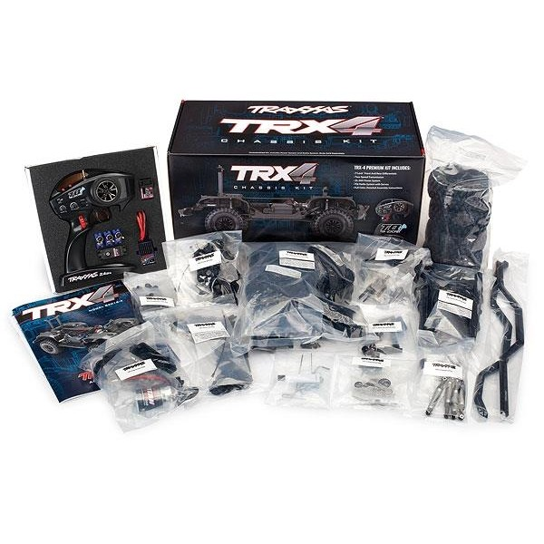 Traxxas TRX-4 KIT Crawler TQi, XL-5, without battery and charger, #TRX82016-4 Electro Auto's 1/10