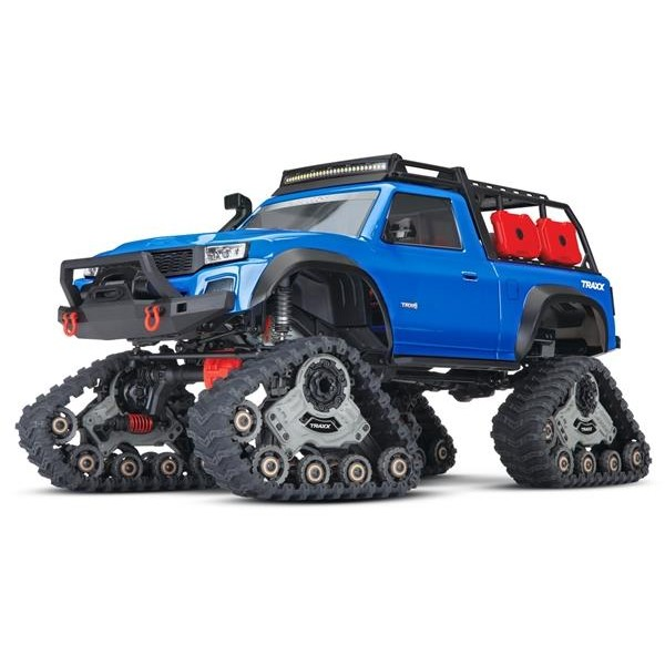 Traxxas TRX-4 Sport equipped with TRAXX TQ XL-5 (No battery/charger), Blue Electro Auto's 1/10