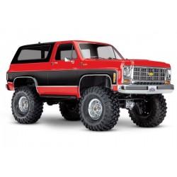 Traxxas TRX-4 Chevy K5 Blazer Crawler XL-5 (no batty/chg), RED, TRX82076-4R
