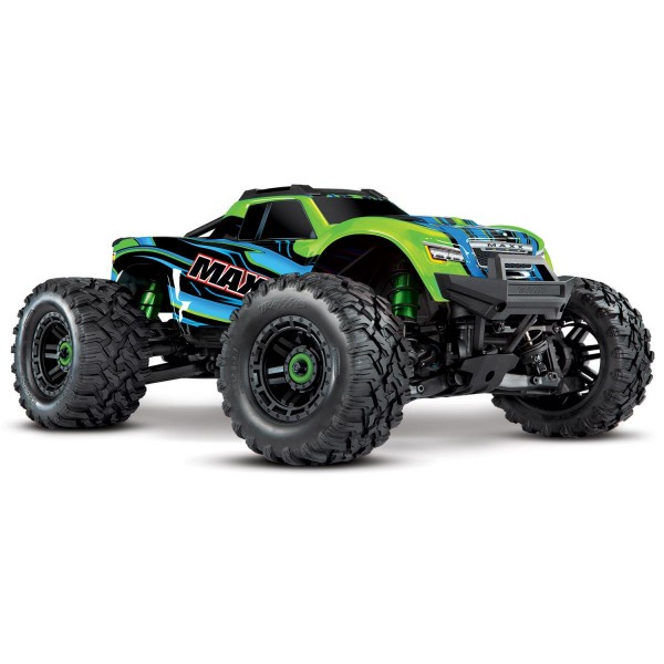 Traxxas Maxx 1/10 Scale 4WD Brushless Electric Monster Truck, VXL-4S, TQi - GRNX Electro Auto's 1/10