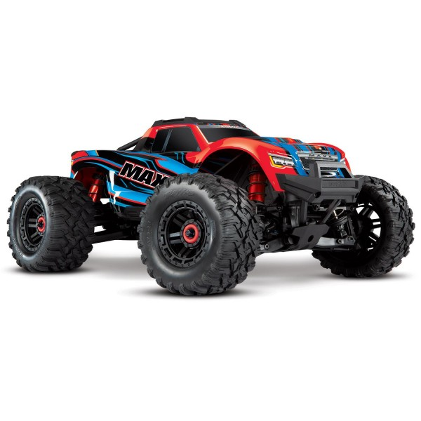 Traxxas Maxx 1/10 Scale 4WD Brushless Electric Monster Truck, VXL-4S, TQi - REDX Electro Auto's 1/10