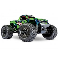 Traxxas Hoss 1/10 Scale 4WD Brushless Electric Monster Truck, VXL-3S, TQi - Green