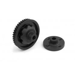 Composite Rear Diff. Case & Cover, X335060