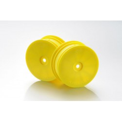 1:10 Off-Road 4WD racing front rims 14mm yellow (2)