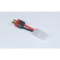 Adaptor Tamiya plug (female) - T-plug (male), 4cm